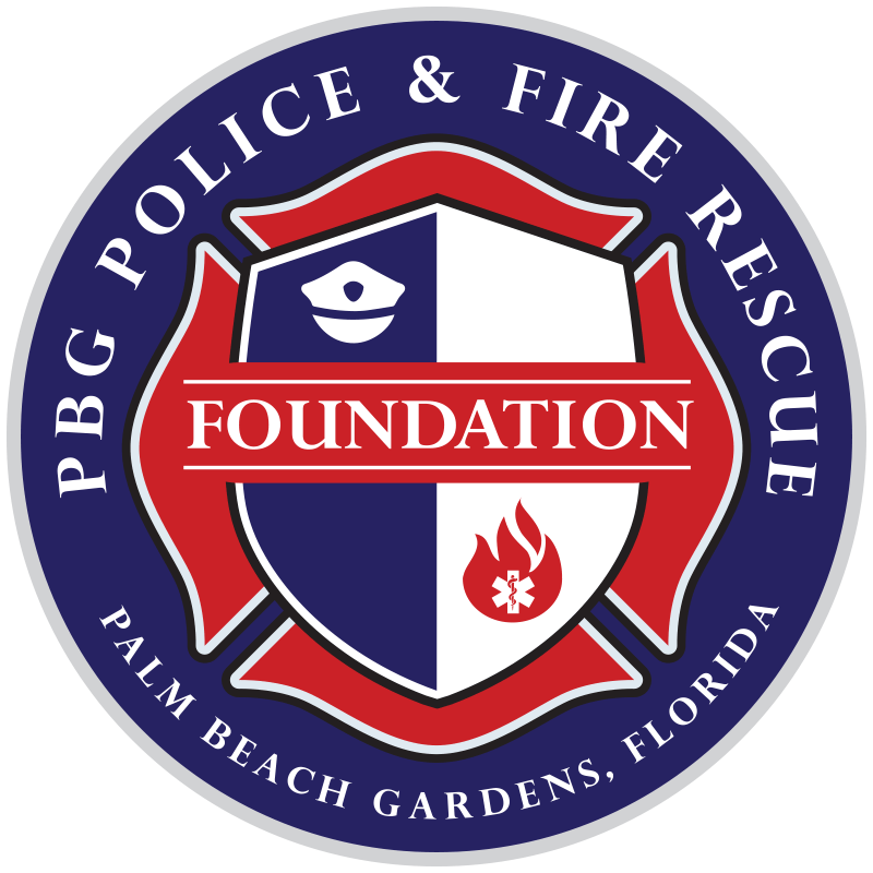 Palm Beach Gardens Police & Fire Rescue Foundation Logo